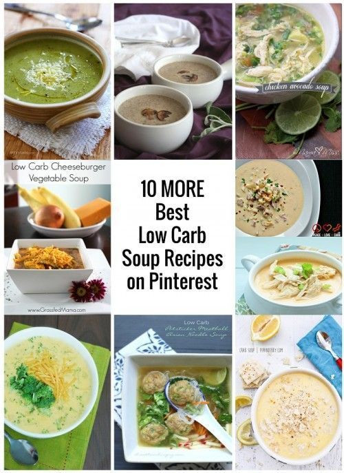 Low Carb Recipes Pinterest  10 Best Low Carb Soup Recipes from Pinterest IBIH
