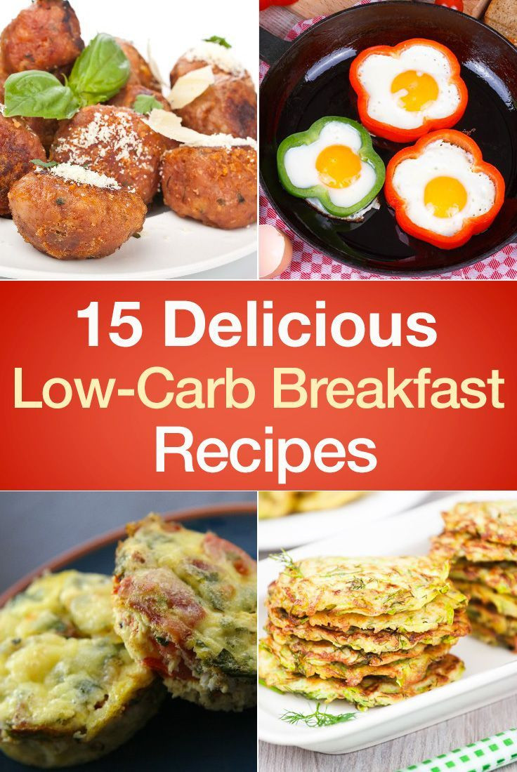 Low Carb Recipes Pinterest  15 Delicious Low Carb Breakfast Recipes