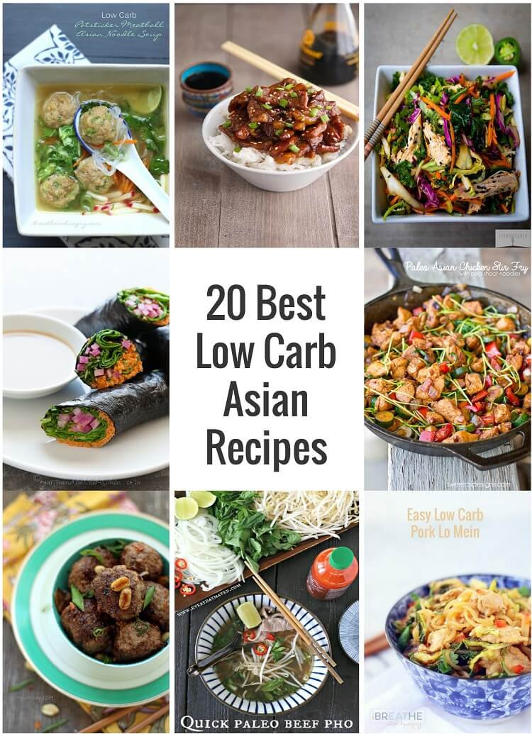 Low Carb Recipes Pinterest  20 Best Low Carb Asian Recipes