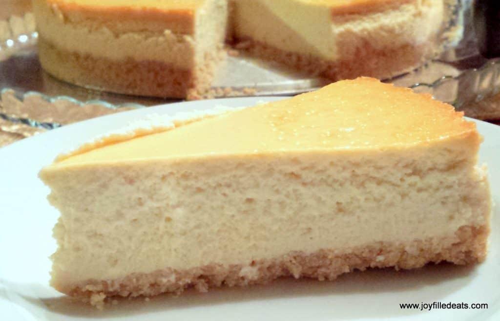 Low Carb Ricotta Dessert  Vanilla Ricotta Cheesecake Low Carb Keto THM S Joy