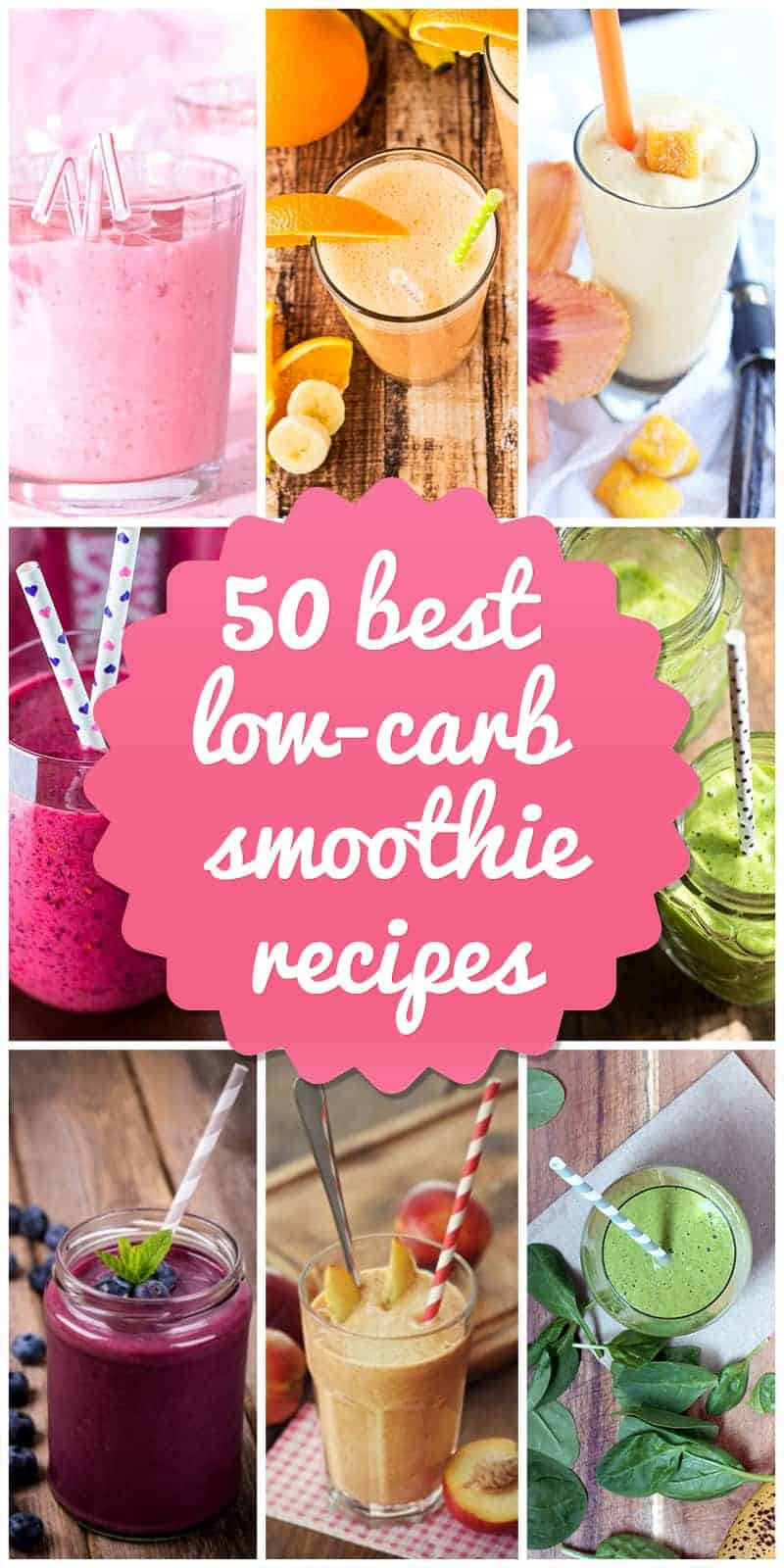 Low Carb Smoothie Recipes  50 Best Low Carb Smoothie Recipes for 2018
