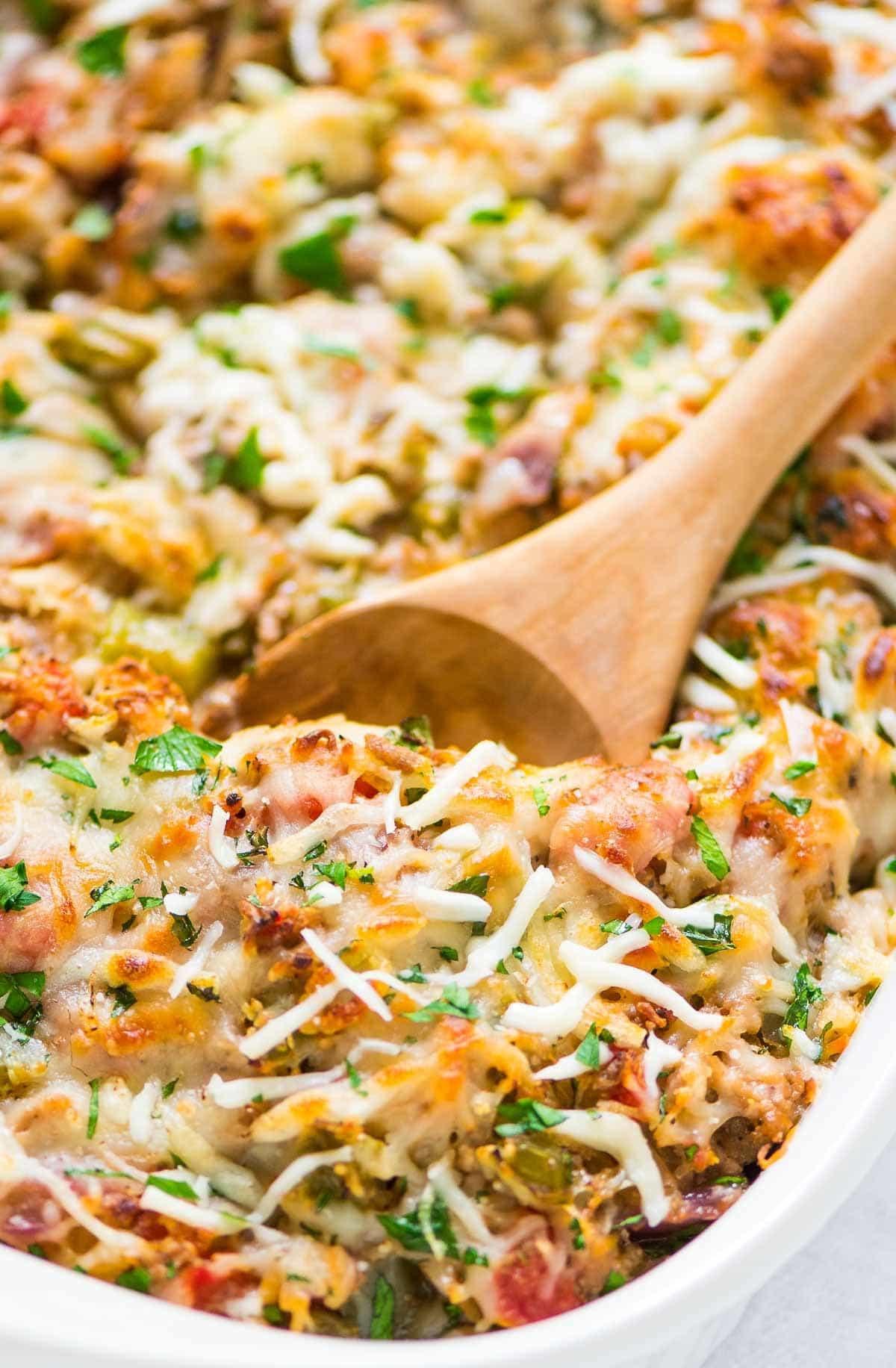 Low Carb Spaghetti Squash Recipes  Spaghetti Squash Casserole
