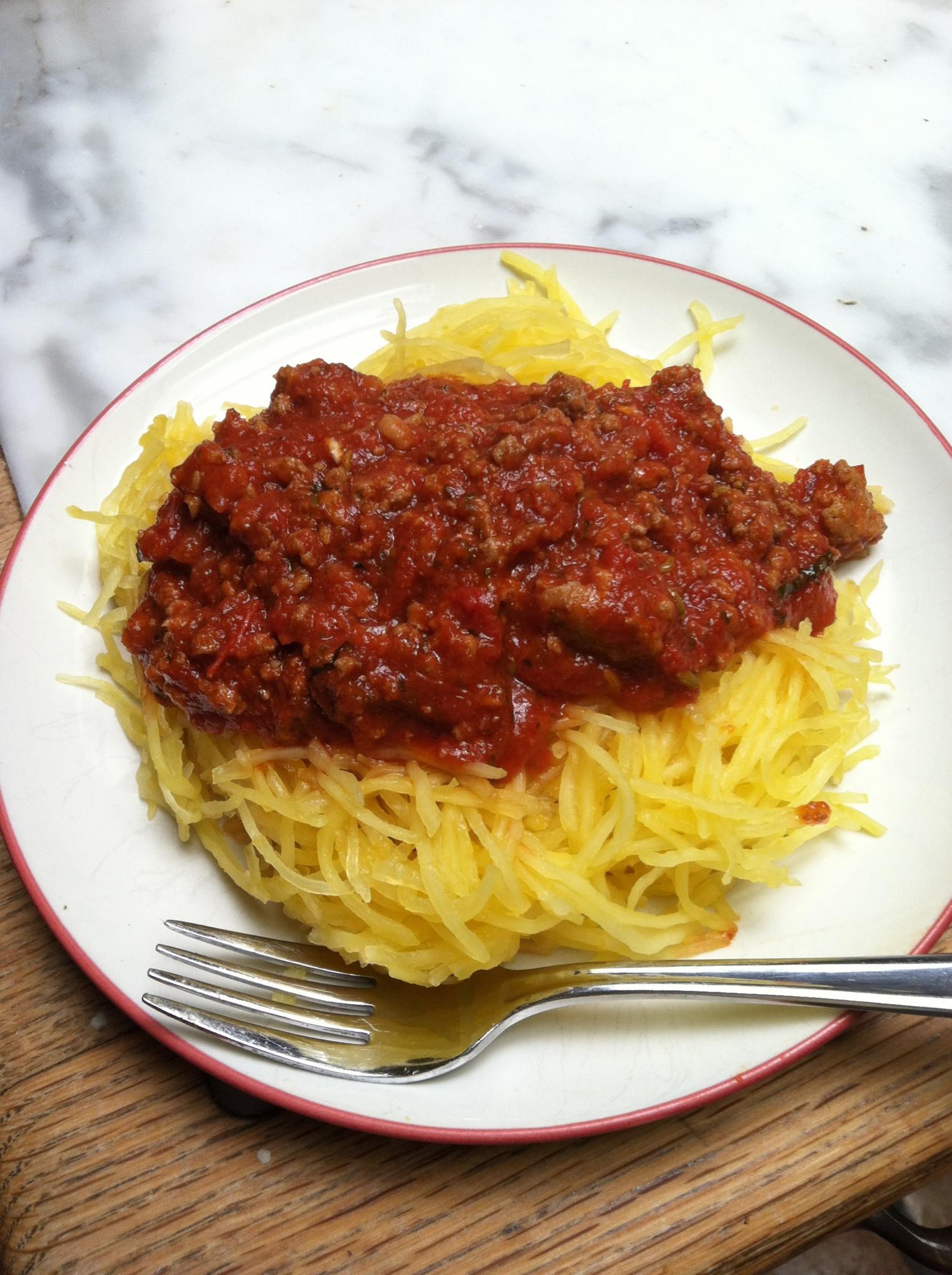 Low Carb Spaghetti Squash Recipes  Recipes Spaghetti Squash