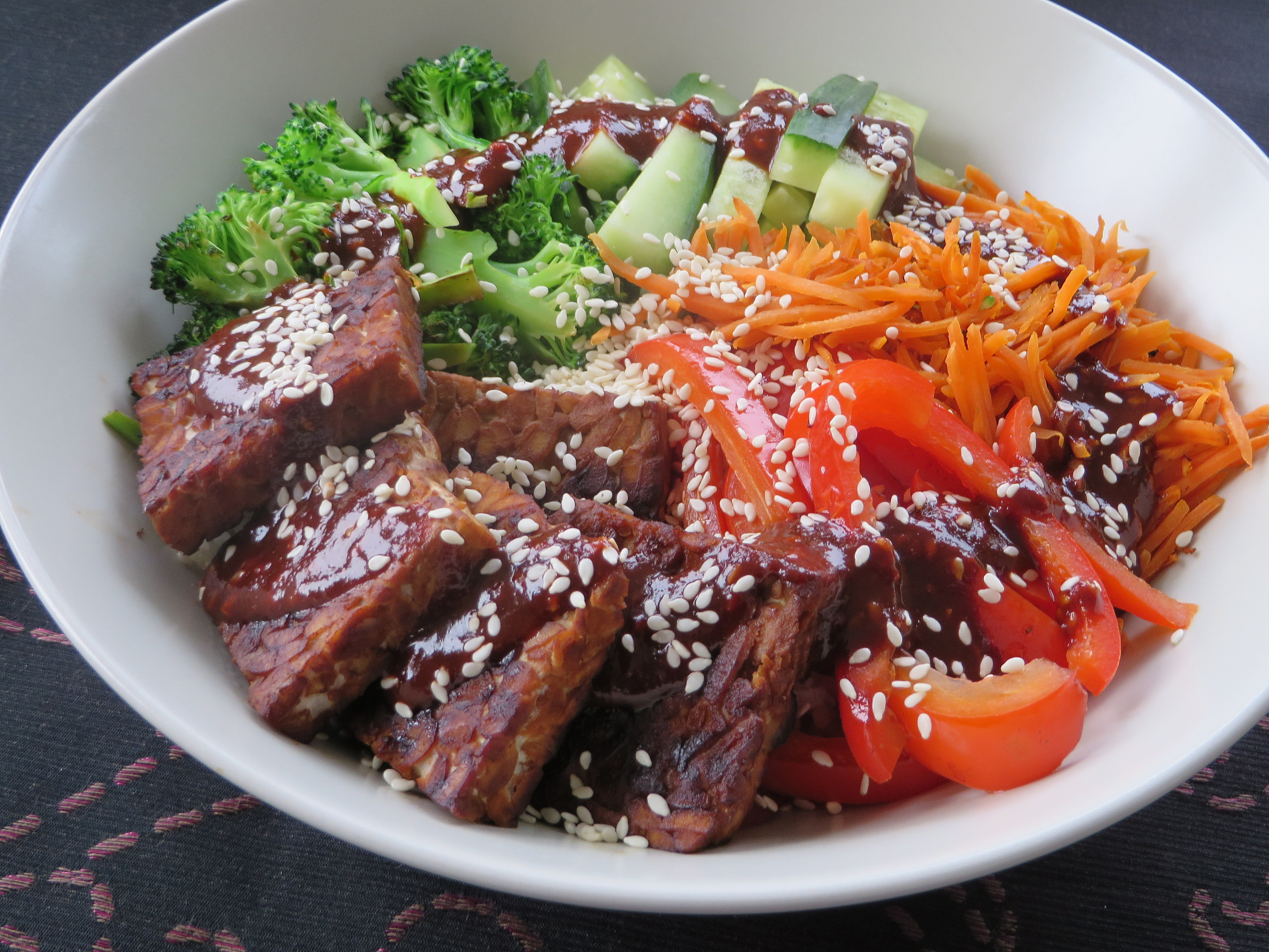 Low Carb Vegetarian Dinner  Low carb vegan bibimbap – LowCarb Vegan