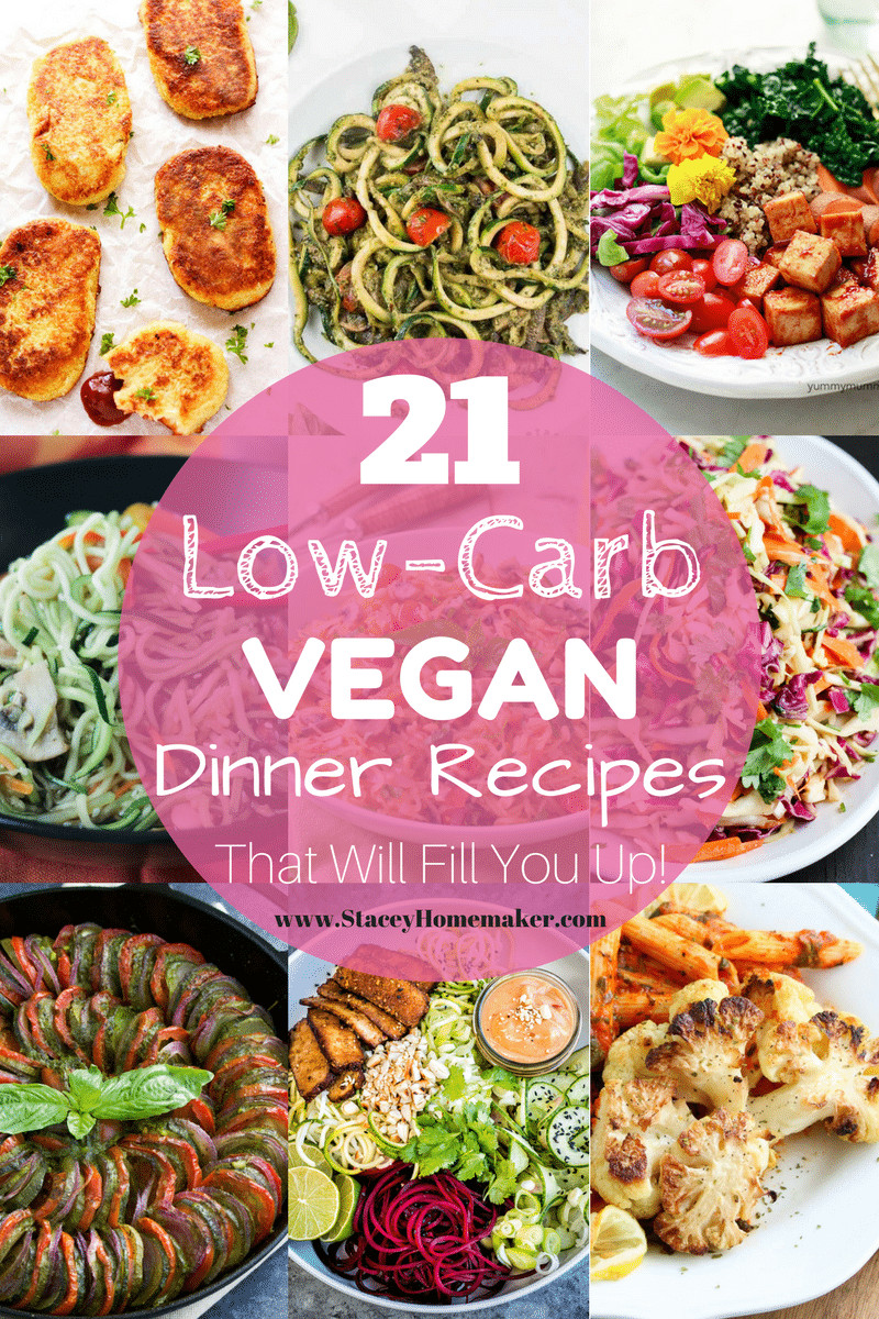Low Carb Vegetarian Dinner  21 Low Carb Vegan Recipes That Will Fill You Up