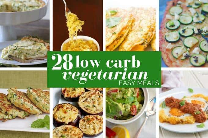 Low Carb Vegetarian Dinner  28 Incredible Low Carb Ve arian Meals Ditch The Carbs