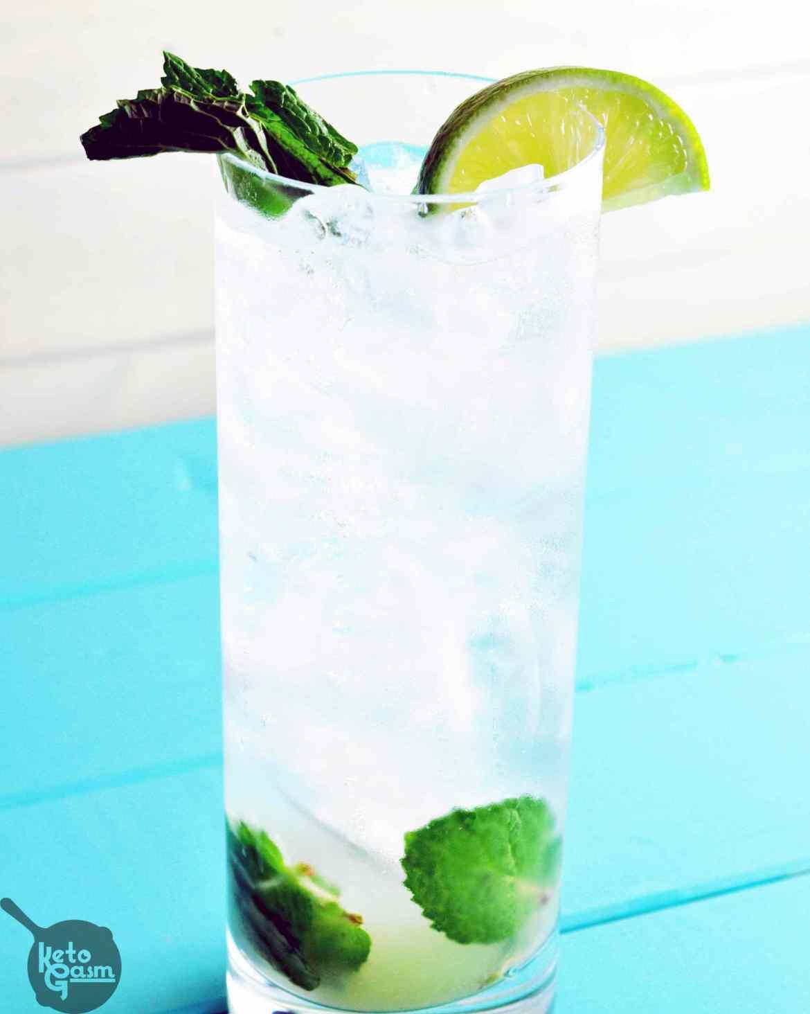 Low Carb Vodka Drinks  Vodka Mojito Low Carb & Sugar Free [Recipe] KETOGASM