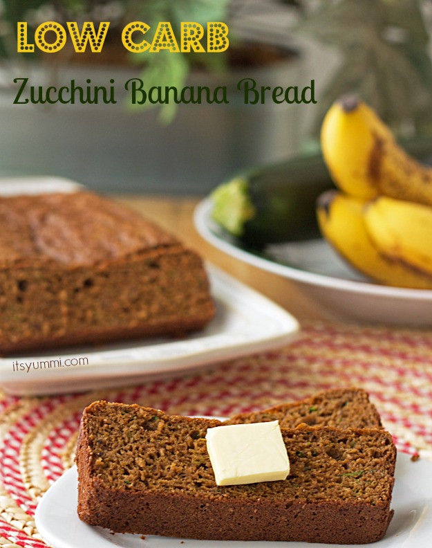 Low Carb Zucchini Bread  Low Carb Zucchini Banana Bread Recipe ⋆ Its Yummi