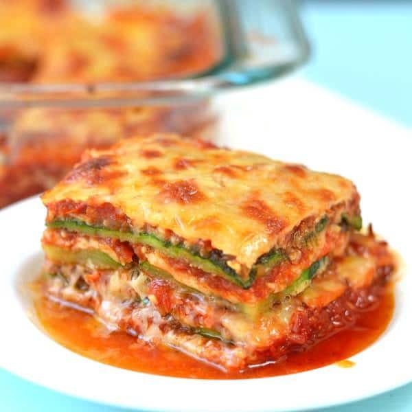 Low Carb Zucchini Lasagna  Grain free Zucchini Lasagna Recipe low carb with vegan