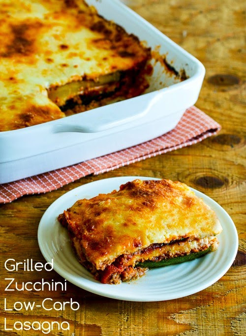 Low Carb Zucchini Lasagna  Grilled Zucchini Low Carb Lasagna with Italian Sausage