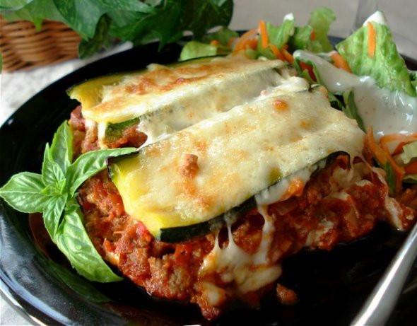 Low Carb Zucchini Lasagna  Zucchini Lasagna Recipe Food