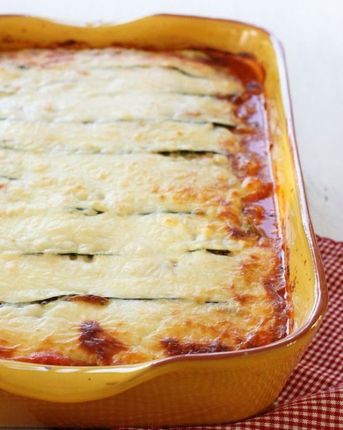 Low Carb Zucchini Lasagna  20 Best Low Carb Italian Recipes on Pinterest IBIH