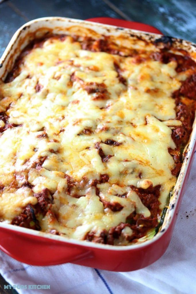 Low Carb Zucchini Lasagna  Low Carb Lasagna with Zucchini Noodles