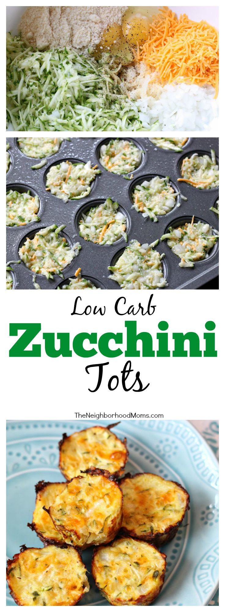 Low Carb Zucchini Recipes  Low Carb Zucchini Tots The Neighborhood Moms