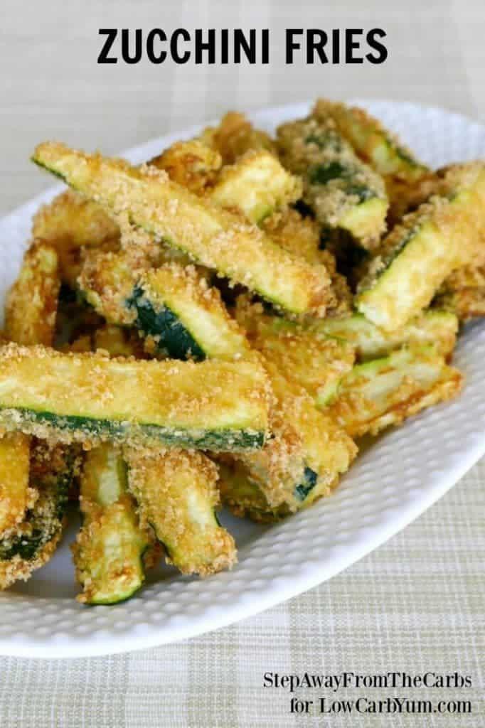 Low Carb Zucchini Recipes  Low Carb Zucchini Fries Recipe Gluten Free