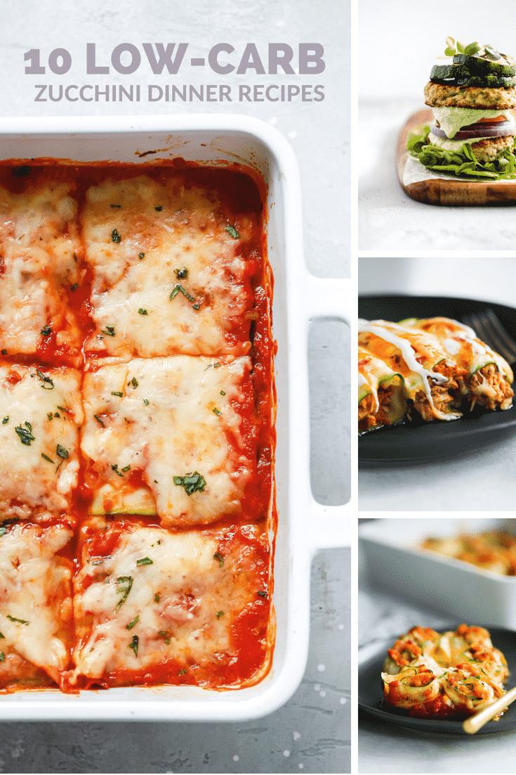 Low Carb Zucchini Recipes  10 Low Carb Zucchini Dinner Recipes Primavera Kitchen