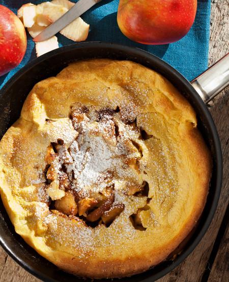 Low Cholesterol Breakfast Recipes  Low Fat Breakfast Recipe German Apple Sausage Pancake