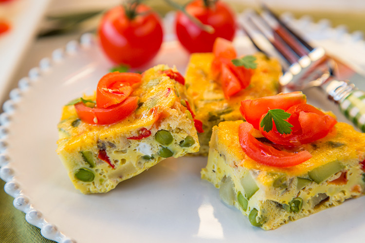 Low Cholesterol Breakfast Recipes  Slow Cooker Ve able Omelette
