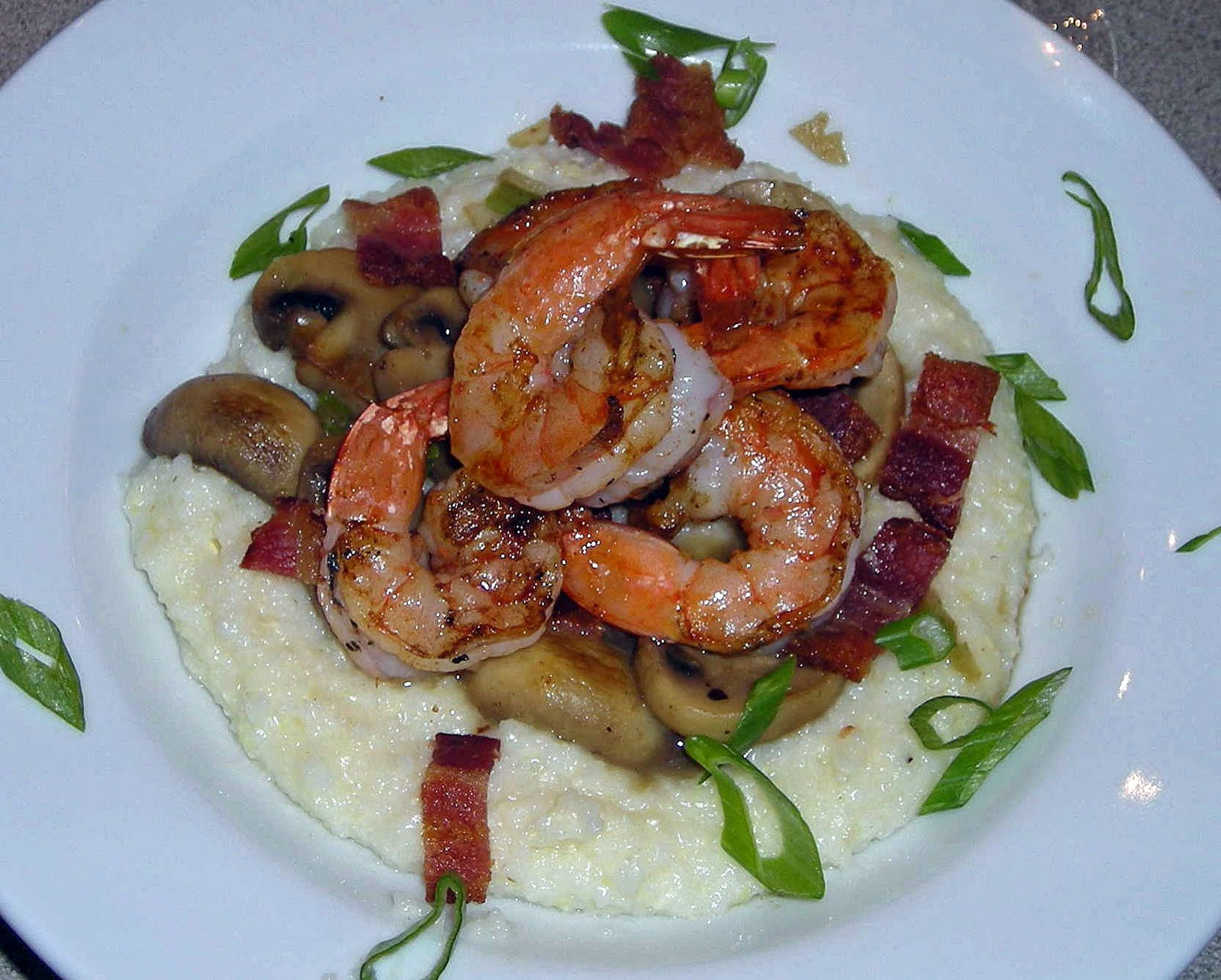 Low Country Shrimp And Grits  My Carolina Kitchen Low Country Shrimp and Grits