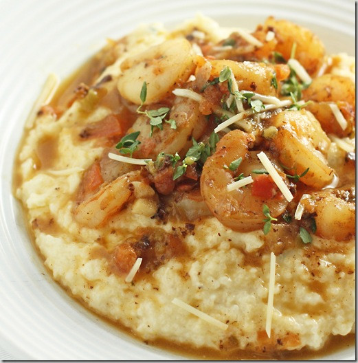 Low Country Shrimp And Grits  The last day of 2011 Katrina Runs For Food