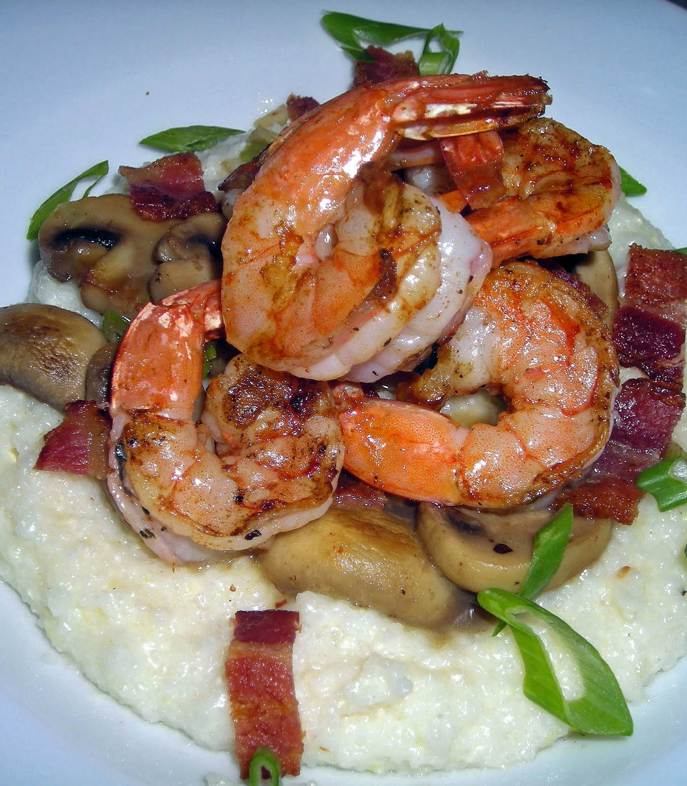 Low Country Shrimp And Grits  My Carolina Kitchen May 2010