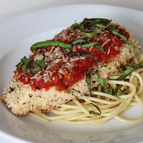 Low Fat Chicken Recipes  Healthy Low Fat Chicken Parmesan Lunch And Dinner Recipe
