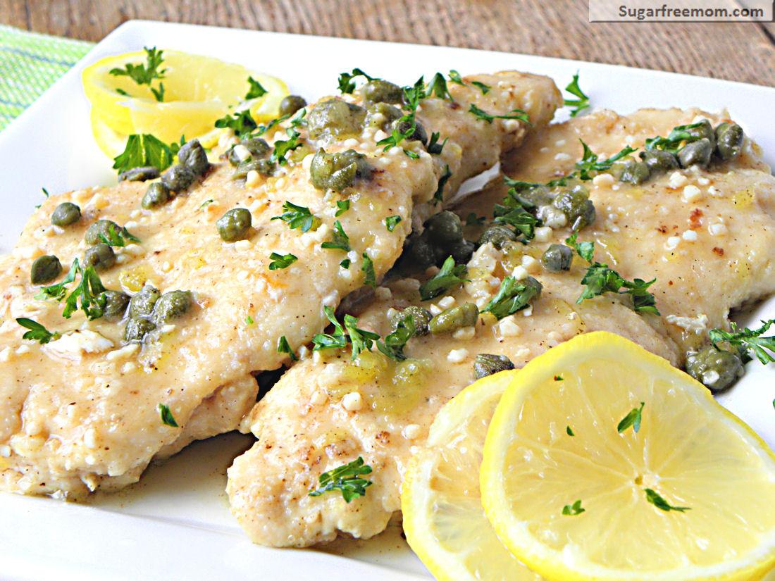 Low Fat Chicken Recipes  Low Fat Chicken Piccata [Gluten Free]