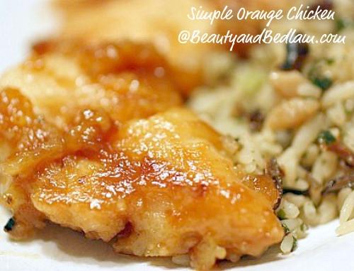 Low Fat Chicken Recipes  Orange Chicken Recipe Chinese Orange Chicken Recipe Low