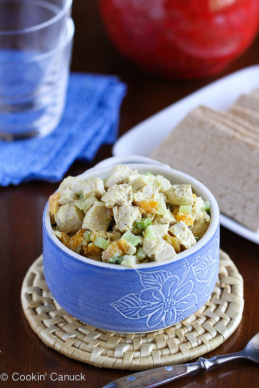 Low Fat Chicken Salad  Cookin Canuck