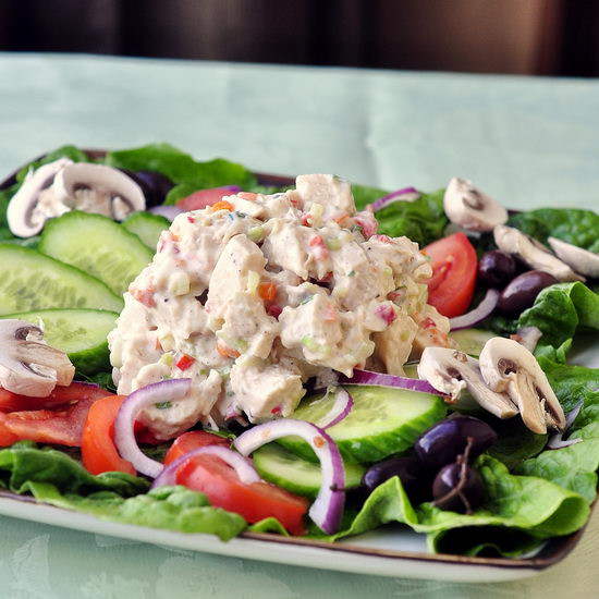 Low Fat Chicken Salad  Rock Recipes The Best Food & s from my St John s