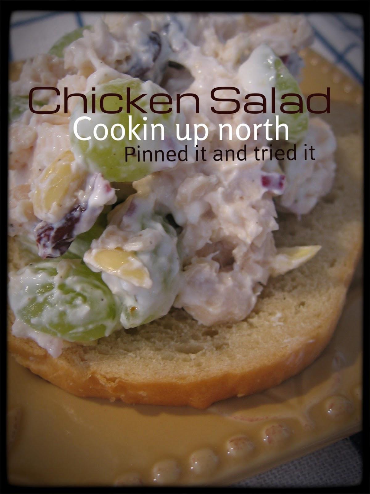 Low Fat Chicken Salad  cookin up north Low fat Chicken Salad with Greek Yogurt