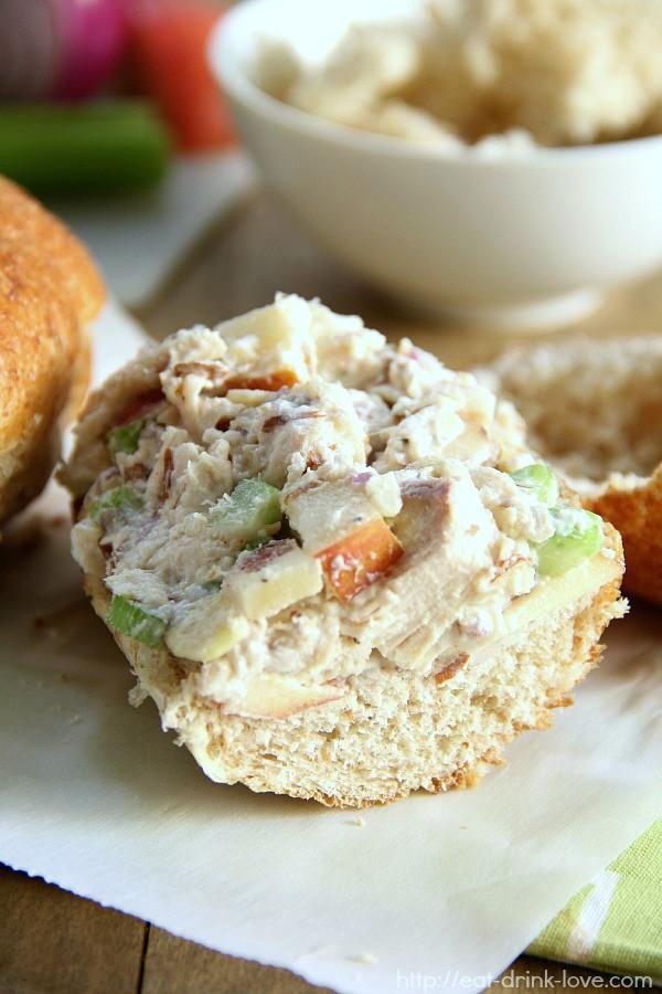 Low Fat Chicken Salad  Low Fat Chicken Salad Eat Drink Love