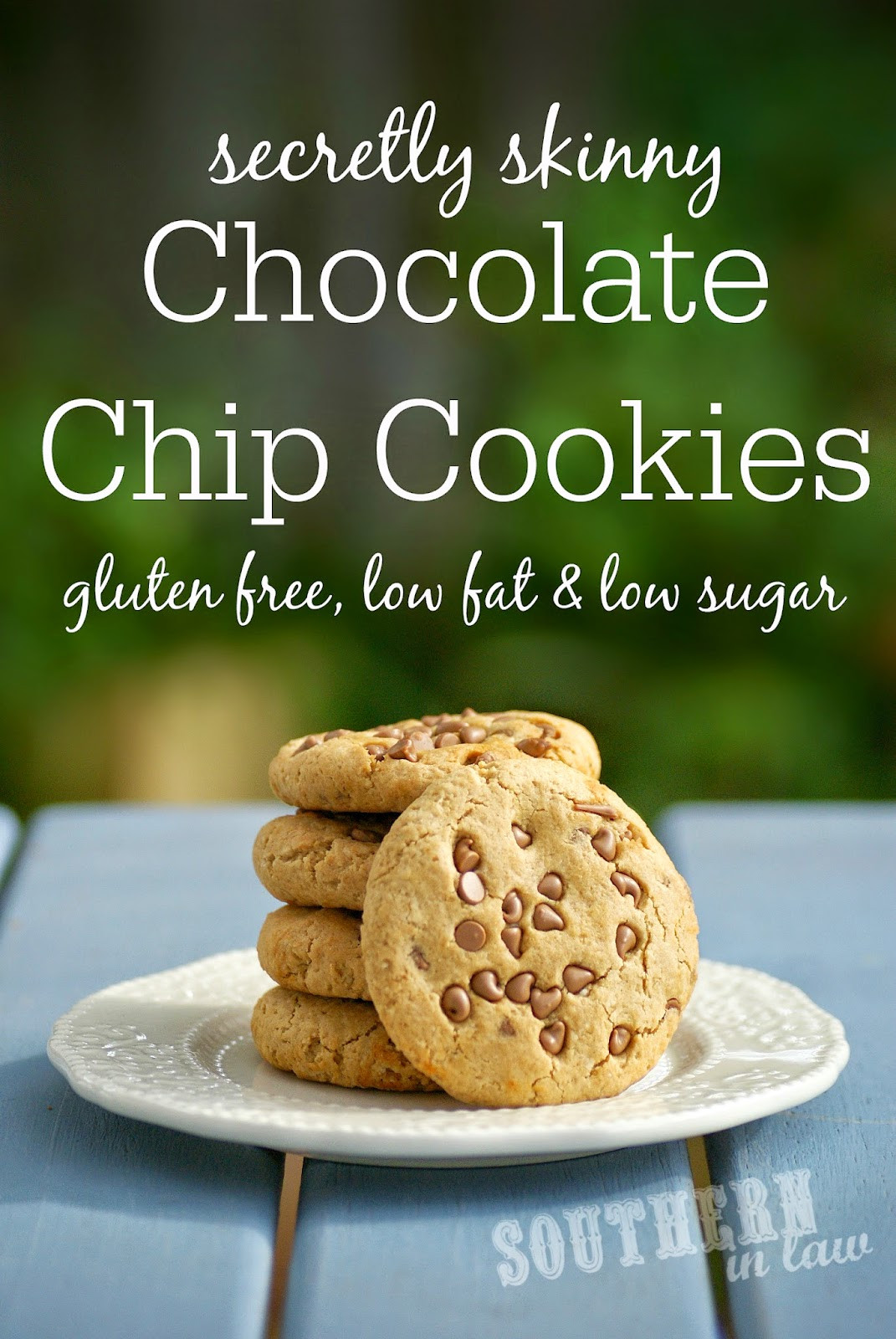 Low Fat Cookie Recipes  Southern In Law Recipe Secretly Skinny Chocolate Chip