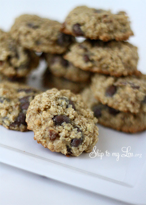 Low Fat Cookie Recipes  Low Fat Oatmeal Raisinet Cookie Recipe