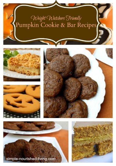 Low Fat Cookie Recipes  Weight Watchers Pumpkin Cookie Recipes