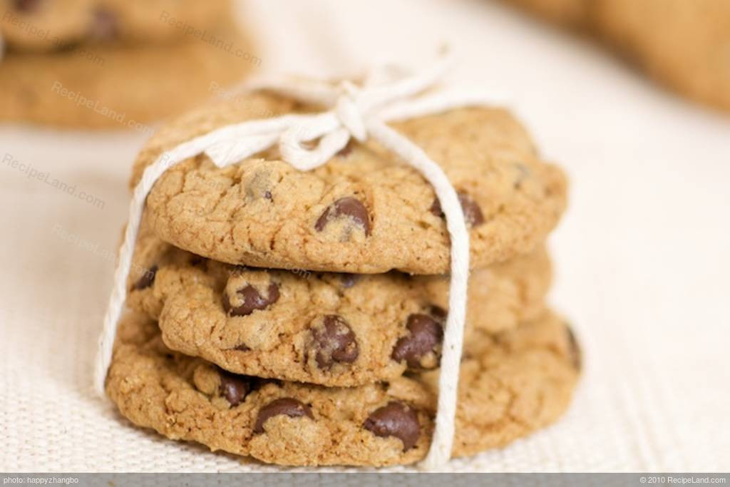 Low Fat Cookie Recipes  Chocolate Chip Cookies Low fat Low Calorie Recipe