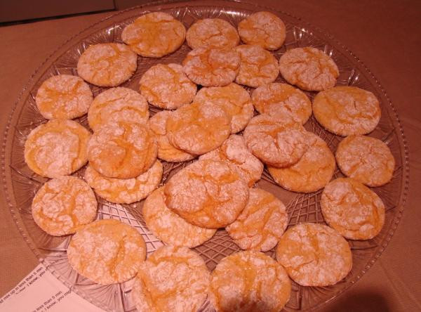 Low Fat Cookie Recipes  Low Fat Crinkle Cookies Recipe 2
