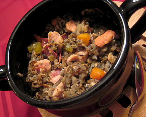 Low Fat Crock Pot Recipes  Low Fat Crock Pot Herbed Turkey And Wild Rice Casserole