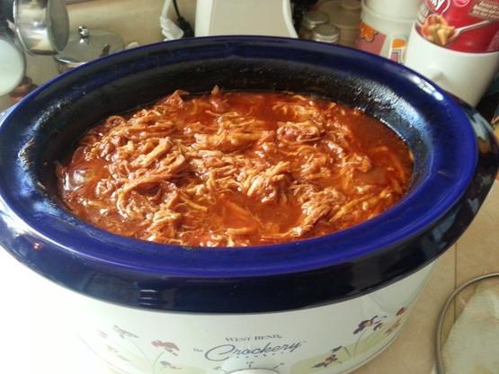 Low Fat Crock Pot Recipes  Easy Crock Pot BBQ Chicken Low Fat Recipe Genius Kitchen