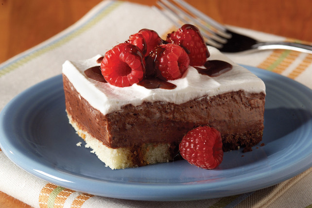 Low Fat Dessert Recipes  Low Fat Chocolate Berry Dessert Kraft Recipes