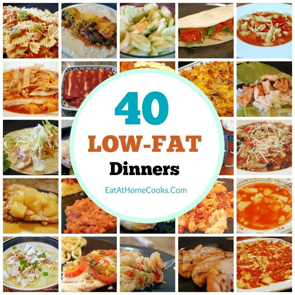 Low Fat Diet Recipes  My Big Fat List of 40 Low Fat Recipes