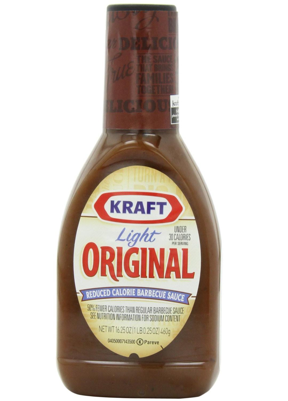 Low Sodium Bbq Sauce  Kraft Light Barbecue Sauce Review