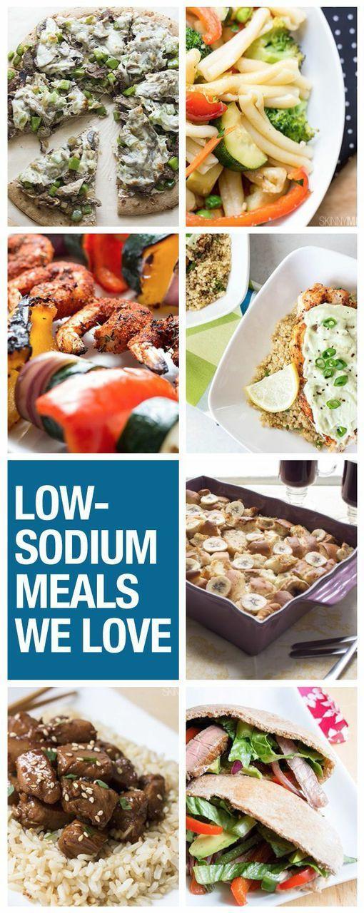 Low Sodium Dinner  30 Low Sodium Meals Low Sodium Foods