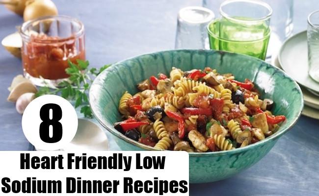 Low Sodium Dinner  8 Heart Friendly Low Sodium Dinner Recipes