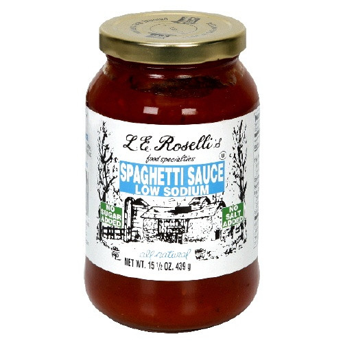 Low Sodium Spaghetti Sauce  14 best images about F55 Approved Foods on Pinterest