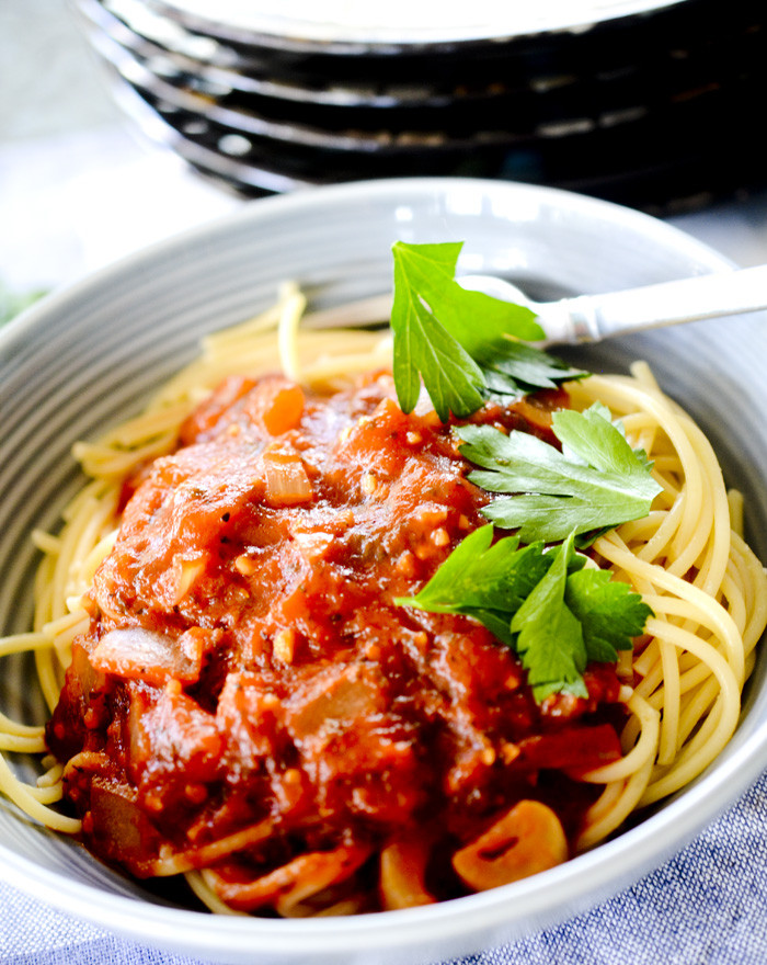 Low Sodium Spaghetti Sauce  Low Sodium Spaghetti Sauce – Recipe Diaries