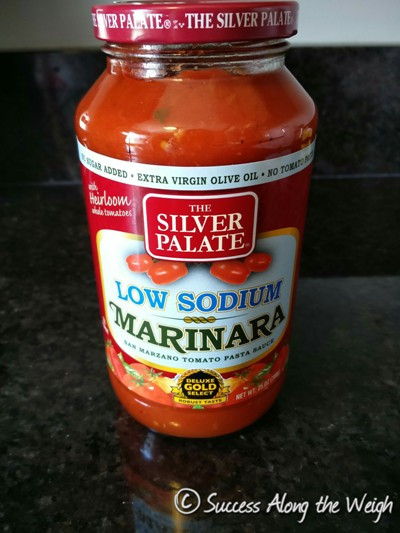 Low Sodium Spaghetti Sauce  Success Along the Weigh Product Review Silver Palate Low