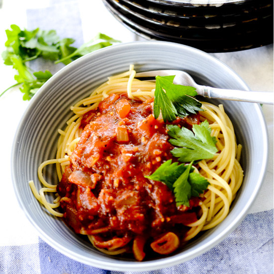 Low Sodium Spaghetti Sauce  Low Sodium Spaghetti Sauce – Recipe Diaries
