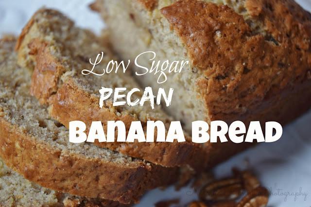 Low Sugar Banana Bread  Simple Things Low Sugar Pecan Banana Bread