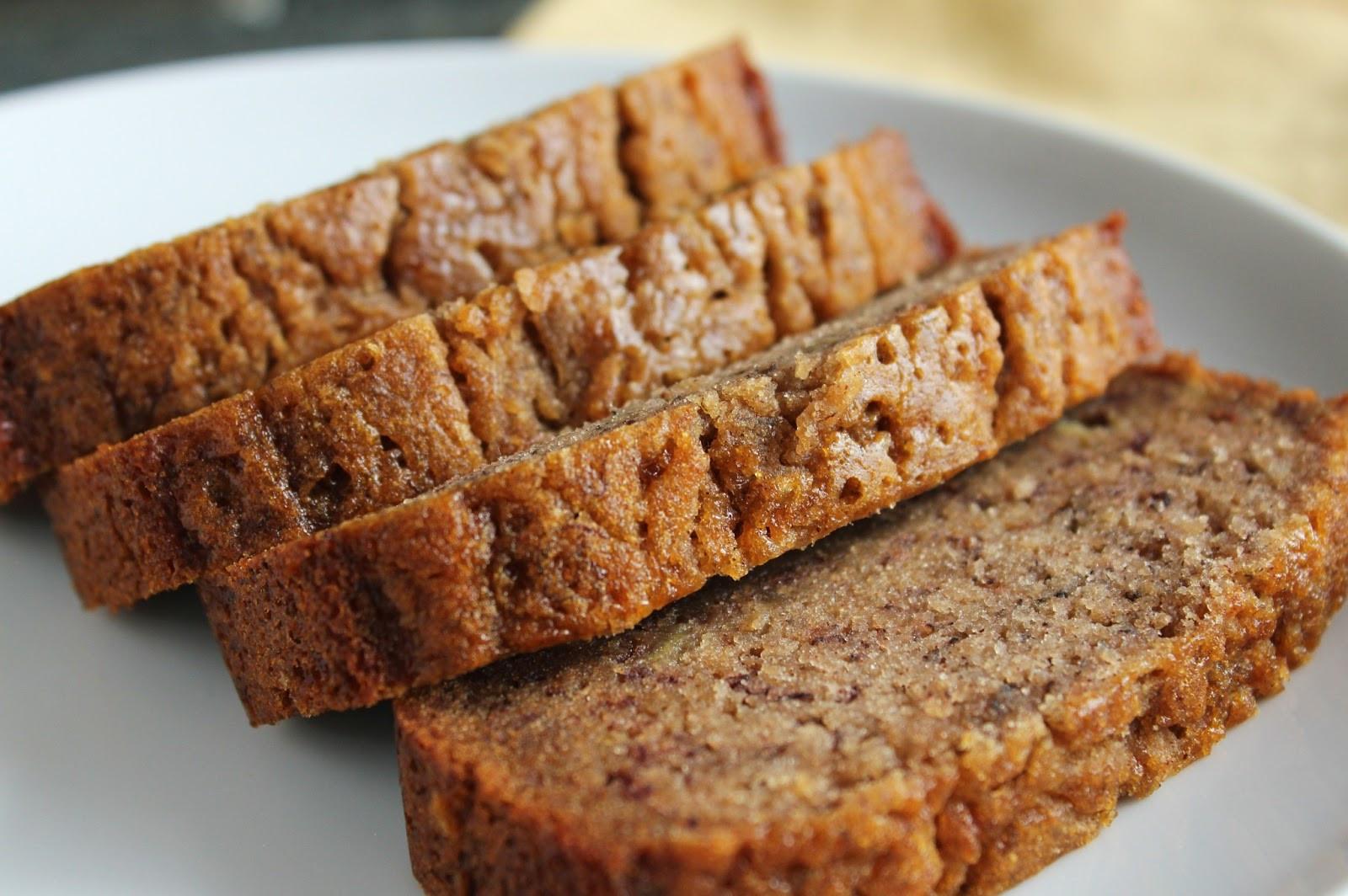 Low Sugar Banana Bread  Easily Adaptable Banana Bread Recipe Recipe 4 5